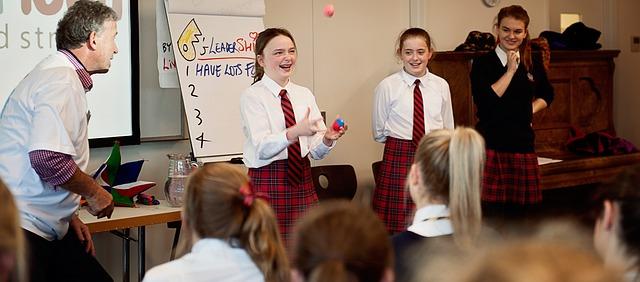 žonglování s míčky