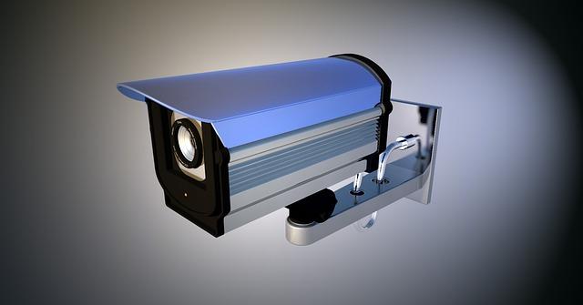 stříbrná kamera