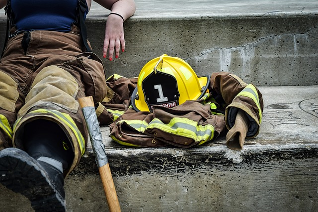 odpočinek hasiče