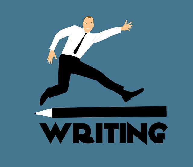 psaní autor